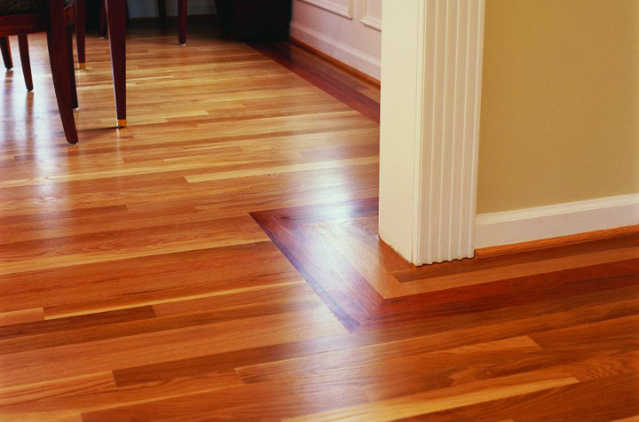 Cherry hardwood floor