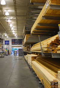lumber store for home owners